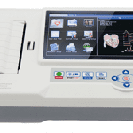 Device A. k. C. 6 Channels colorful Screen ECG600G