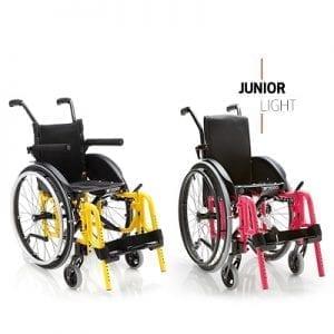 כסא גלגלים קל משקל לילדים – junior light