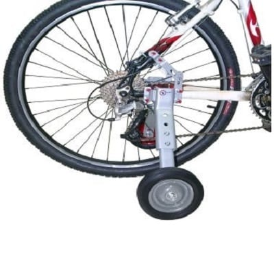 Large-size auxiliary wheels for big bicycles