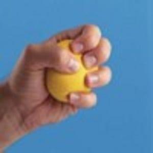 Soft Yellow workout Ball