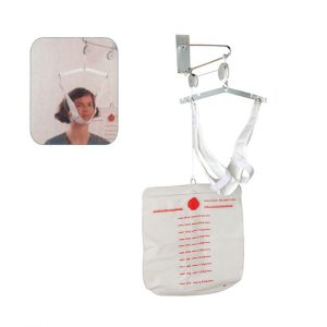 Neck stretching device