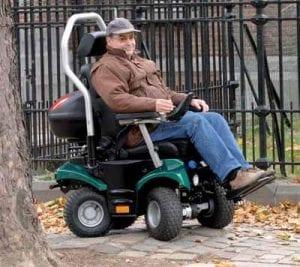 כיסא גלגלים ממונע לתנאי שטח דגם P4 Country