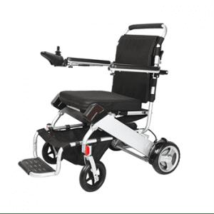כסא גלגלים ממונע מתקפל דגם 9606 עם סוללות ליטיום