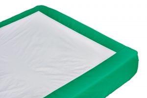 סדין למניעה וריפוי פצע לחץ וכן מסייע בשינוי תנוחה במיטה.  סדין זוגי ללא גומי