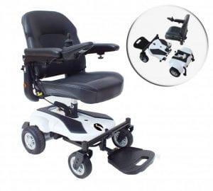 כסא גלגלים ממונע מתקפל מדגם RIO