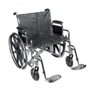 כסא גלגלים לכבדי משקל- דגם סנטרה – SENTRA