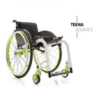 Lightweight wheelchair chair-TEKNA ADVANCE