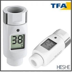 מד חום וטמפרטורה אוניברסלי למקלחת – TFA Shower Thermometer