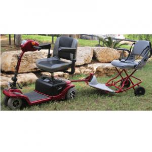 קלנועית טירול מיני 2 – דו מושבית מתפרקת מתקפלת