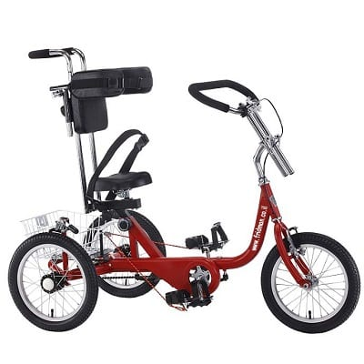 """Tricycle """"16"""" for rehabilitation with side supports for special, handicapped and limited needs"""