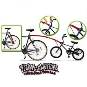 Trail Gator Bicycle Towing rod