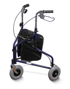 רולטור 3 גלגלים פלדה
