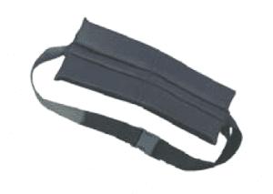 חגורת בטיחות עם פד קידמי לכסא גלגלים
