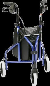 רולטור עם שלושה גלגלים