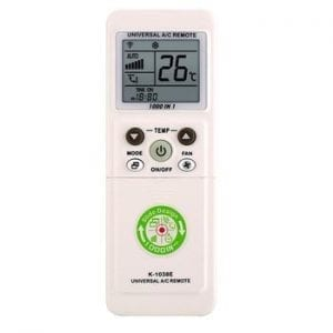 Remote control-a universal remote control for air conditioners 1000 on 1