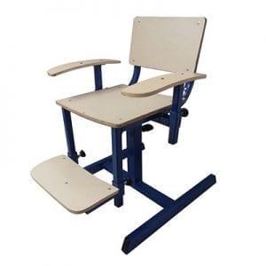 כיסא מתכוונן חצב