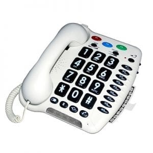 Telephone for hearing impaired-model CL100