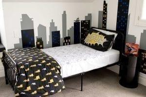 ברוֹלִי עם כנפיים מאוייר – סדינית מגן רב פעמית, למיטת יחיד