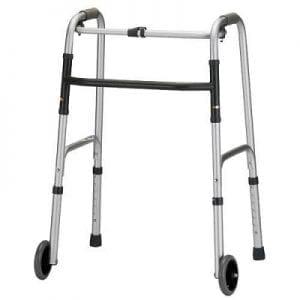 הליכון מתקפל למבוגרים עם גלגלים