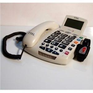 טלפון לחצן מצוקה- geemarc tel 1000