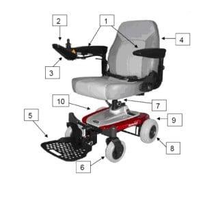 כסא ממונע -דגם מורן
