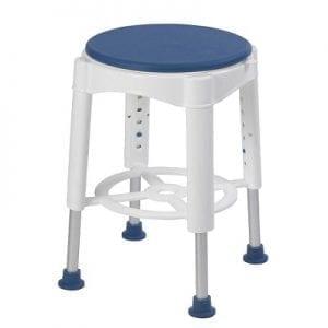 כסא רחצה מסתובב 360 מעלות