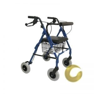 Rolfour wheels with balloon wheels, stable and comfortable for walking
