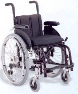 כיסא גלגלים הפעלה ידנית לילדים דגם Nova Wizard