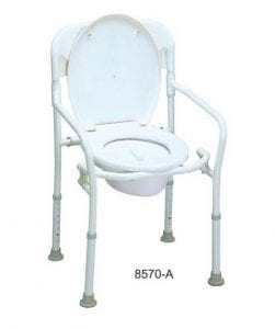 Toilet chair and bathing model 8570A