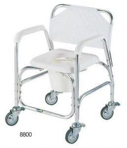 Toilet chair and bathing model 8800
