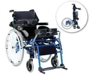 כיסא גלגלים העמדה חשמלית והנעה ידנית