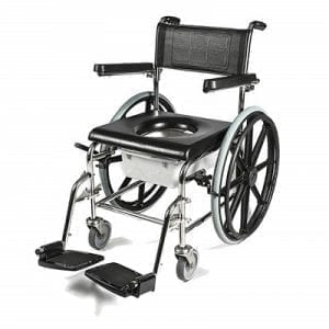 Self-propelled washing chair and toilet