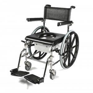 כיסא שירותים ורחצה הנעה עצמית