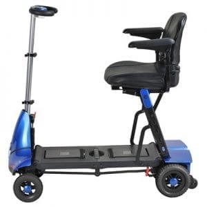 Folding clasgnic with remote control-Solax Transformer Electric Folding Scooter