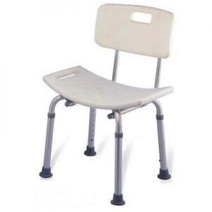 כסא משענת לרחצה