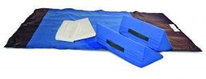 TurnAssist כלי עזר לשינוי תנוחת המטופל על ידי מטפל בודד