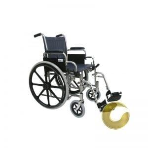 כסא גלגלים סיעודי בסיסי וחזק דגם: 330021