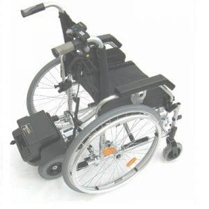 כסא גלגלים עם מנוע עזר – דגם זברה