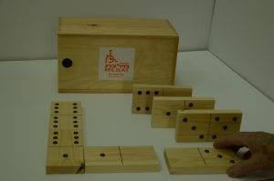 Accessible Dominoes