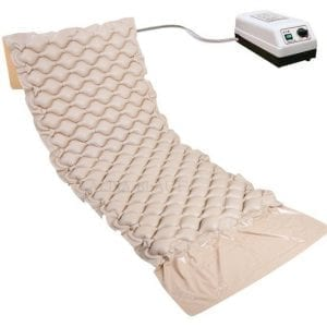 Air mattress for pressure wounds