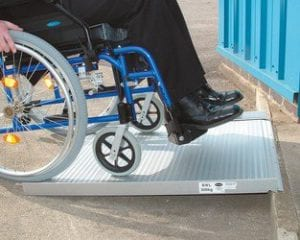 רמפה סף לכסא גלגלים
