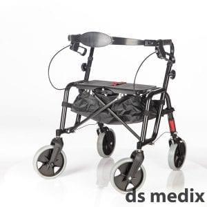 רולטור 4 גלגלים עם מושב קשיח