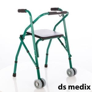 Treadmill 2 wheels with seat