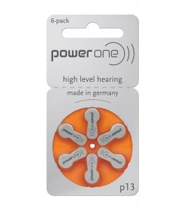 P10-Hearing Battery size