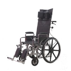 כסא גלגלים מוסדי גב הטיה פריק 011FL