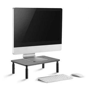 מעמד למסך מחשב ארגונומי מתכוונן