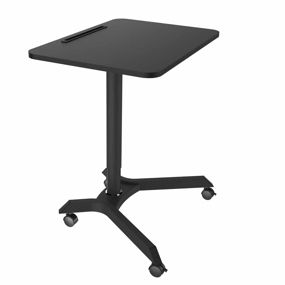 Ergonomic adjustable stand/seat position