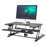 Standing/sitting position means ergonomic electrical