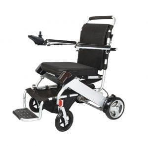 Motorized folding Wheelchair