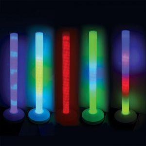 עמודי תאורה לגירוי תחושתי סנוזלן Rompa